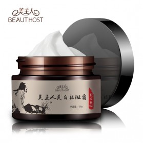BEAUTY HOST Krim Wajah Gingseng 30g - Black