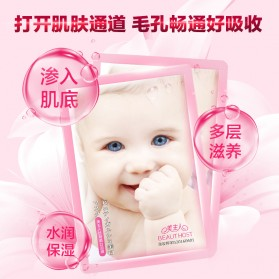 BEAUTY HOST Masker Wajah Moisturizing Whitening Baby Formula 10 PCS - 3