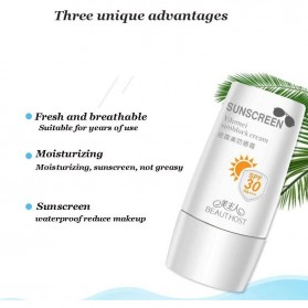 BEAUTY HOST Yilumei Sunscreen Block Lotion SPF 30++ Cream UVA UVB 30g - 5