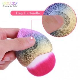 Docolor Foundation Profesional Make Up Brush Rainbow - DB09 - Pink - 9