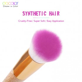 Docolor Foundation Profesional Make Up Brush Rainbow - DB05 - Pink - 3