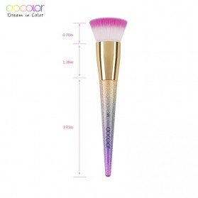 Docolor Foundation Profesional Make Up Brush Rainbow - DB05 - Pink - 6