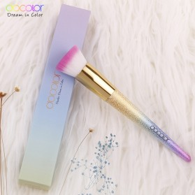Docolor Foundation Profesional Make Up Brush Rainbow - DB05 - Pink - 8