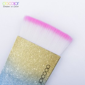 Docolor Foundation Profesional Make Up Brush Rainbow - DB03 - Pink - 2
