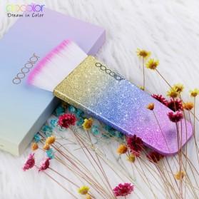 Docolor Foundation Profesional Make Up Brush Rainbow - DB03 - Pink - 5
