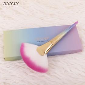 Docolor Foundation Profesional Make Up Brush Rainbow - DB08 - Pink - 6