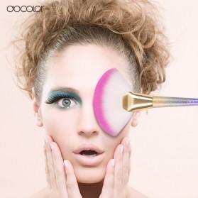 Docolor Foundation Profesional Make Up Brush Rainbow - DB08 - Pink - 7