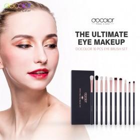 Docolor Brush Make Up 10 Set - DC1002 - Black - 2