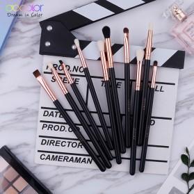 Docolor Brush Make Up 10 Set - DC1002 - Black - 4