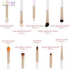 Docolor Brush Make Up 10 Set - DC1002 - Black - 6