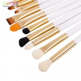 Docolor Brush Make Up 10 Set - DC1002 - Black - 7
