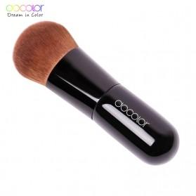 Docolor Kabuki Foundation Profesional Make Up Brush Rainbow - DA002 - Black - 4