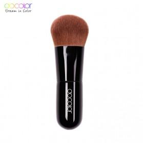 Docolor Kabuki Foundation Profesional Make Up Brush Rainbow - DA002 - Black - 7