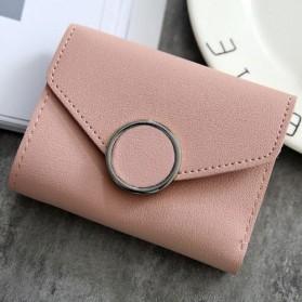 Dompet Kulit Purse Wanita - 117G-QC02 - Pink