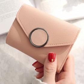 Dompet Kulit Purse Wanita - 117G-QC02 - Pink - 2