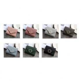 Dompet Kulit Purse Wanita - 117G-QC02 - Pink - 3
