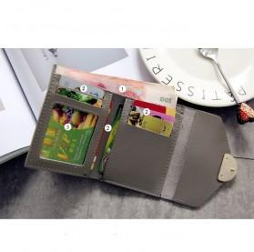 Dompet Kulit Purse Wanita - 117G-QC02 - Pink - 5