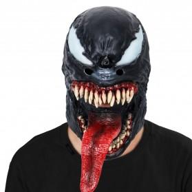Topeng Cosplay Karakter Venom - MCU-V - Black