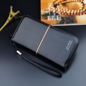 Dompet Kasual Pria Model Panjang - A5014 - Black