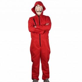 Kostum dan Topeng Cosplay Karakter Salvador Dali Size XL - Dali003 - Red