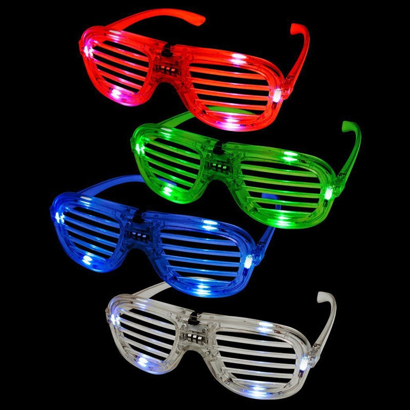 ... Kacamata Shutter LED Fashion Funky Disco Glowing Anak - GD556 - Multi- Color - 1 ... cb08c30a39