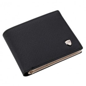 Pidengbao Dompet Pria Kasual PU Leather - 3352-1 - Black