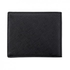 Pidengbao Dompet Pria Kasual PU Leather - 3352-1 - Black - 2