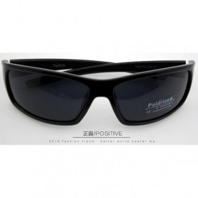 TAGION Kacamata Pria Polarized Sunglasses - TG5104 - Black - 2
