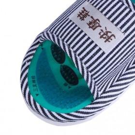 Sandal Pijat Akupuntur Magnetic Health Care Reflexology Slipper - JOCE - Blue - 3