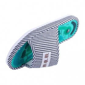 Sandal Pijat Akupuntur Magnetic Health Care Reflexology Slipper - JOCE - Blue - 4