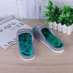 Sandal Pijat Akupuntur Magnetic Health Care Reflexology Slipper - JOCE - Blue - 7