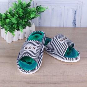 Sandal Pijat Akupuntur Magnetic Health Care Reflexology Slipper - JOCE - Blue - 8