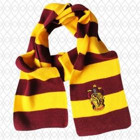 Syal Lambang Asrama Sekolah Sihir Hogwarts Harry Potter - Gryffindor - Red/Yellow - 1