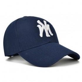 Topi Baseball Cap Snapback Model NY - TB-02 - Black - 2