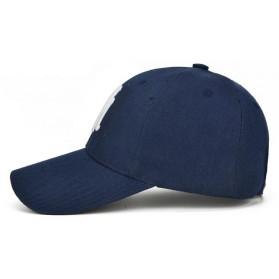 Topi Baseball Cap Snapback Model NY - TB-02 - Black - 3
