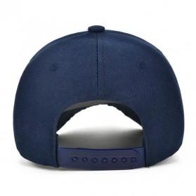 Topi Baseball Cap Snapback Model NY - TB-02 - Black - 4