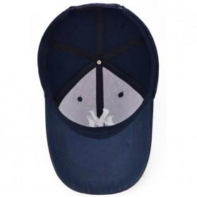 Topi Baseball Cap Snapback Model NY - TB-02 - Black - 5