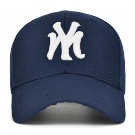 Topi Baseball Cap Snapback Model NY - TB-02 - Black - 6