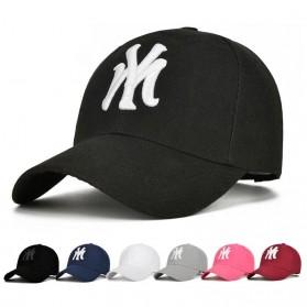 Topi Baseball Cap Snapback Model NY - TB-02 - Black - 7