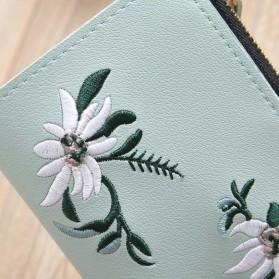 MOLAVE Dompet Wanita Floral Purse Wallet - S71205 - Light Green - 3