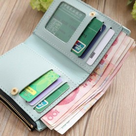 MOLAVE Dompet Wanita Floral Purse Wallet - S71205 - Light Green - 5
