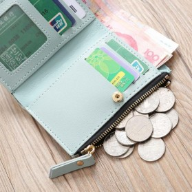 MOLAVE Dompet Wanita Floral Purse Wallet - S71205 - Light Green - 6