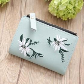 MOLAVE Dompet Wanita Floral Purse Wallet - S71205 - Light Green - 7