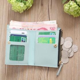 MOLAVE Dompet Wanita Floral Purse Wallet - S71205 - Light Green - 8
