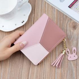 GEONYIEEK Dompet Wanita Trendy Purse Wallet - B393 - Pink