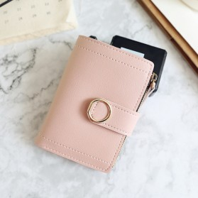 DEDOMON Dompet Wanita Fashion Purse Wallet - B354 - Pink