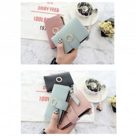 DEDOMON Dompet Wanita Fashion Purse Wallet - B354 - Pink - 6