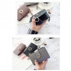 DEDOMON Dompet Wanita Fashion Purse Wallet - B354 - Pink - 8