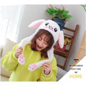 Swokii Topi Kelinci Kuping Gerak Goyang Dancing Dancing Plush Hat - 146886 - White - 5