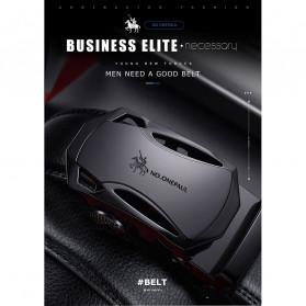 NO.ONEPAUL Tali Ikat Pinggang Luxury Automatic Buckle 3.5cm - N71396 - Black - 5
